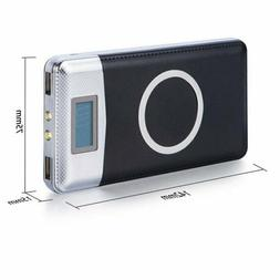 High Capacity USA Wireless Power Bank, 50000mAh LCD digiital