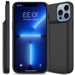For iPhone XS Max XR 6s 7 8 Plus Battery Charging Case Exter