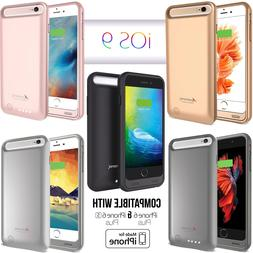 iPhone 6 Plus / 6S Plus Battery Case Charger Cover Portable