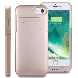 For iPhone 8 7/6/6S Plus Battery Case External Power Bank Ch