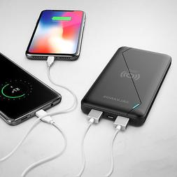 iPhone X Wireless Charger -  Ultra Slim Portable Power Charg