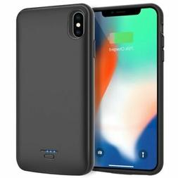 iPhone X/XS Slim Power Bank Battery Pack Charger Backup Case