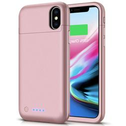 For iPhone XS MAX phone Slim Power Bank battery Charger Case