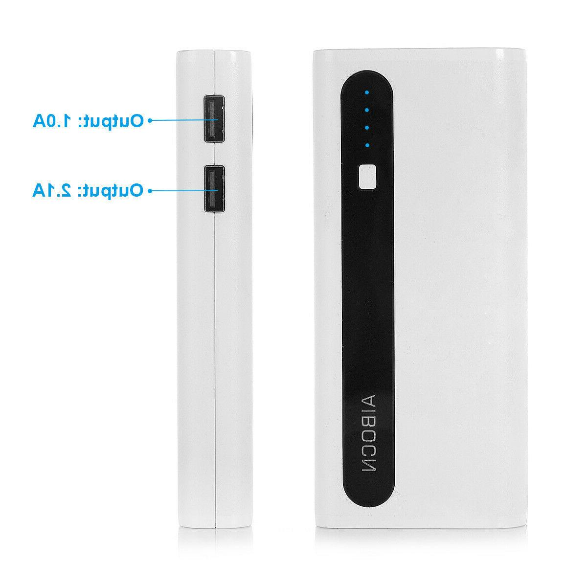Aibocn 10000mAh Power Bank Portable Battery iPhone