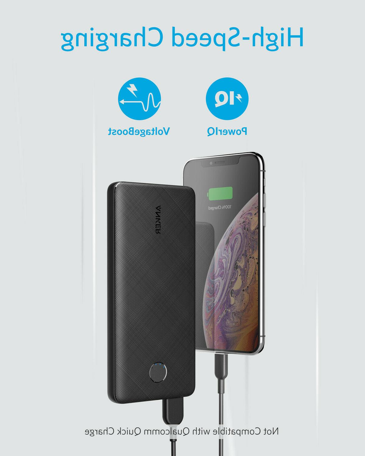 Anker 10000mAh External Battery PowerIQ VoltageBoost Power Bank