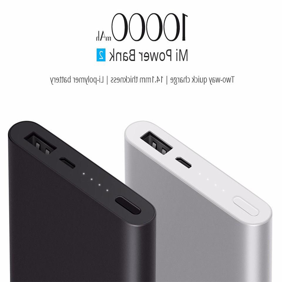 Xiaomi 10000mAh  Power Bank Quick Charge Portable charger Fo