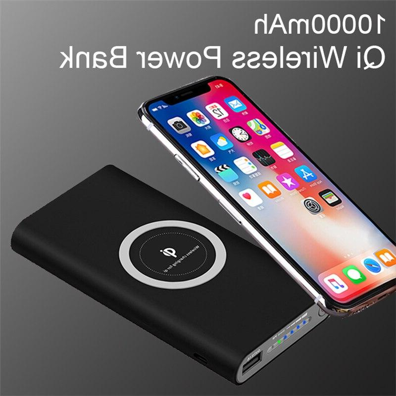 10000mAh Portable <font><b>Bank</b></font> For iPhone S7 S8 Mobile Phone