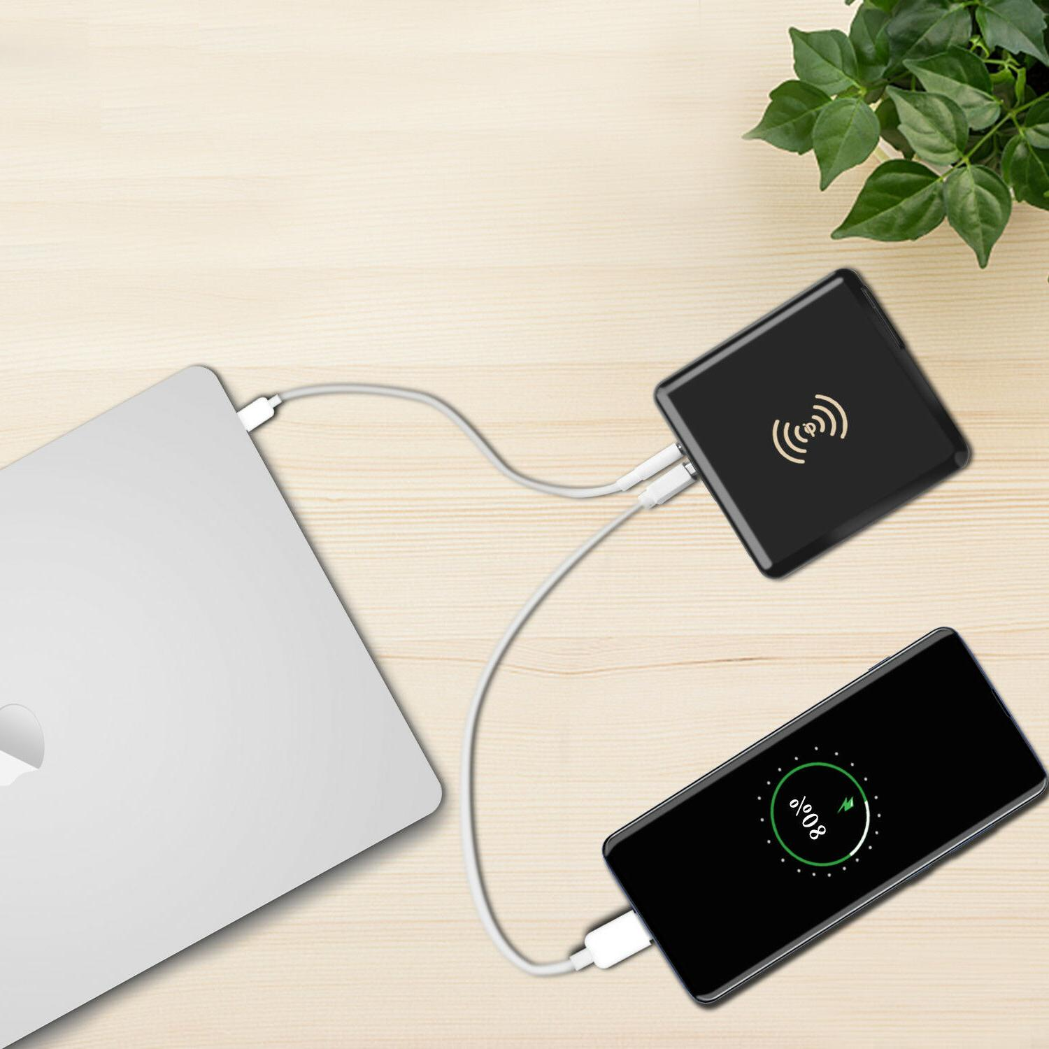 Qi Charging Power Charger QC3.0 Type-C
