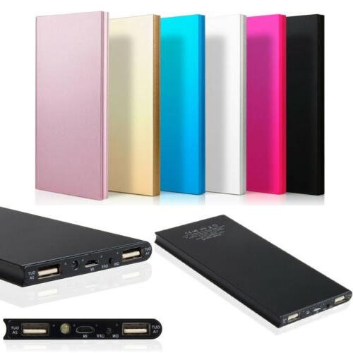 20000mAh Dual USB Portable Charger Bank Battery Cell