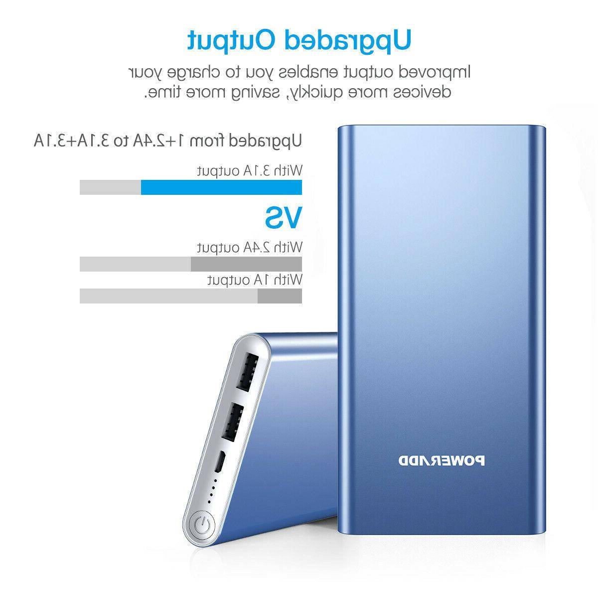 NEW Bank Portable USB Battery for Cellphone