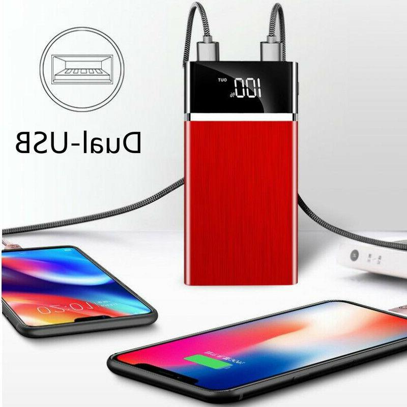2019 500000mAh Portable External Battery Huge Capacity Charger