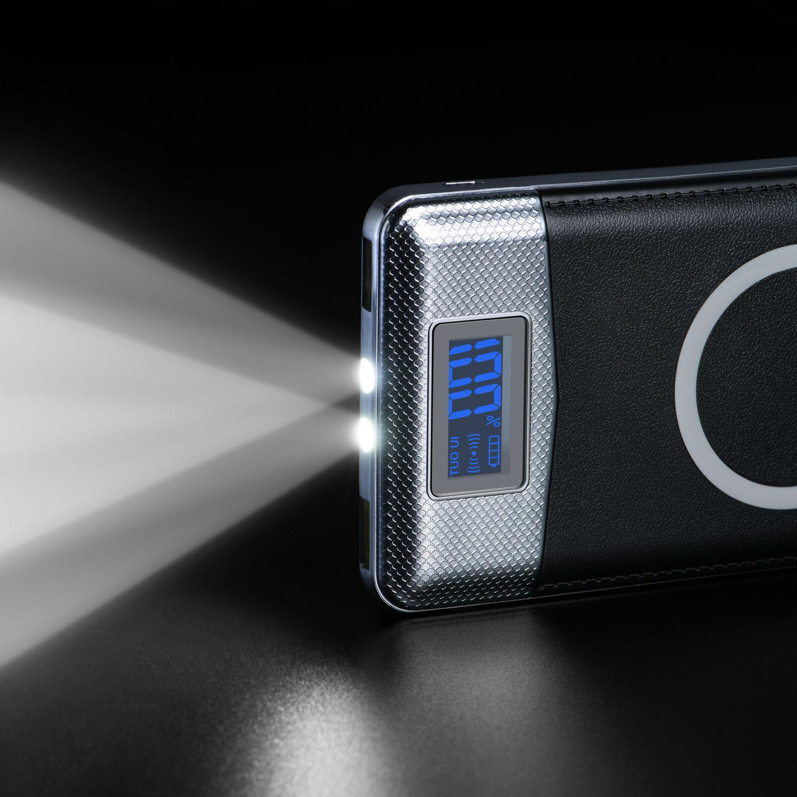 2019 New Charger Power Bank LED LCD Pack