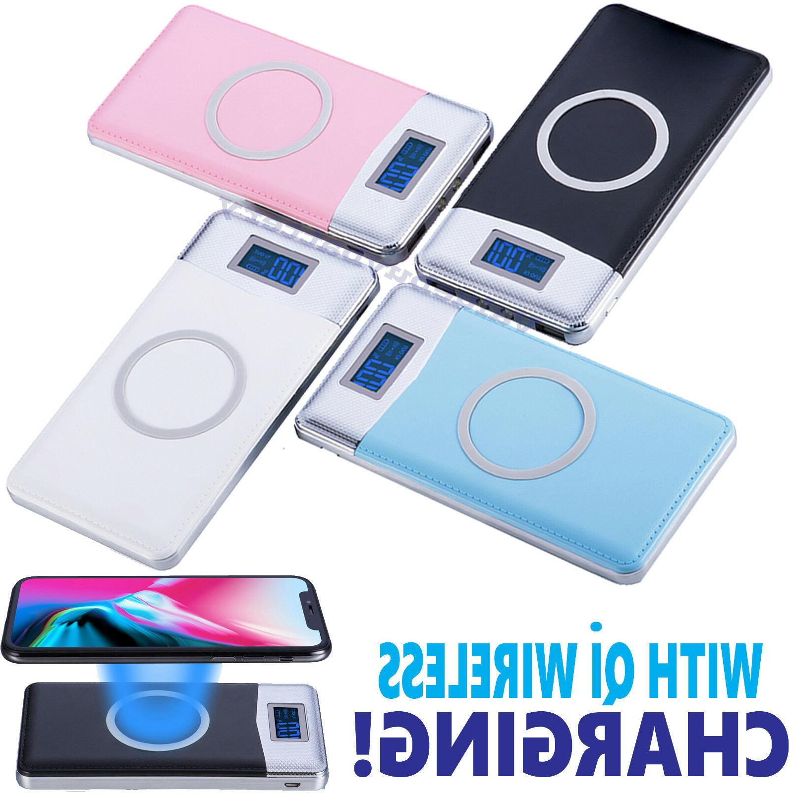 2019 new qi wireless charger power bank