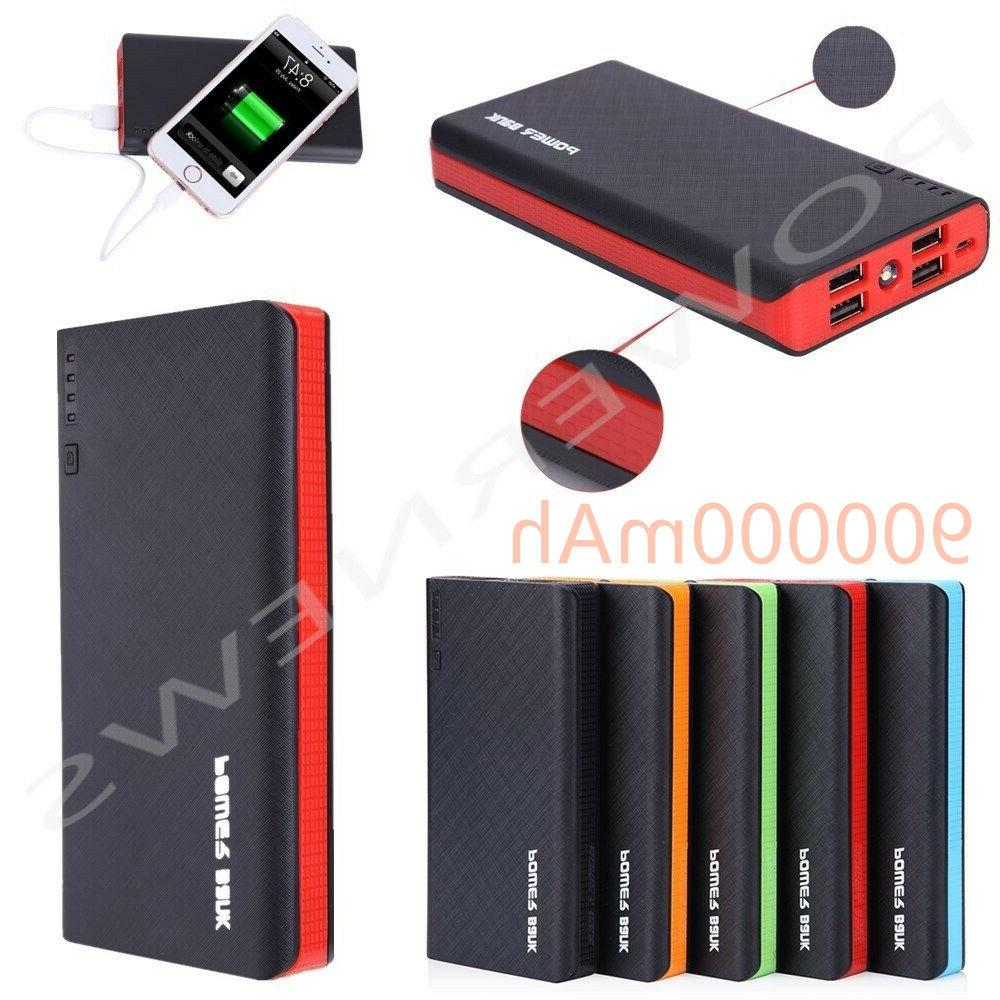 500000mah 4 usb backup external battery power