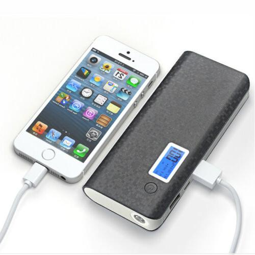 50000mAh Power Portable LCD LED Charger for Cell Phone