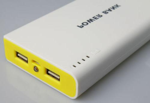 50000mah External Bank Backup Dual USB Charger For Cell Phone