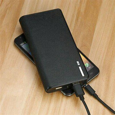 50000mAh Backup LED Dual USB Battery for Cell Phone