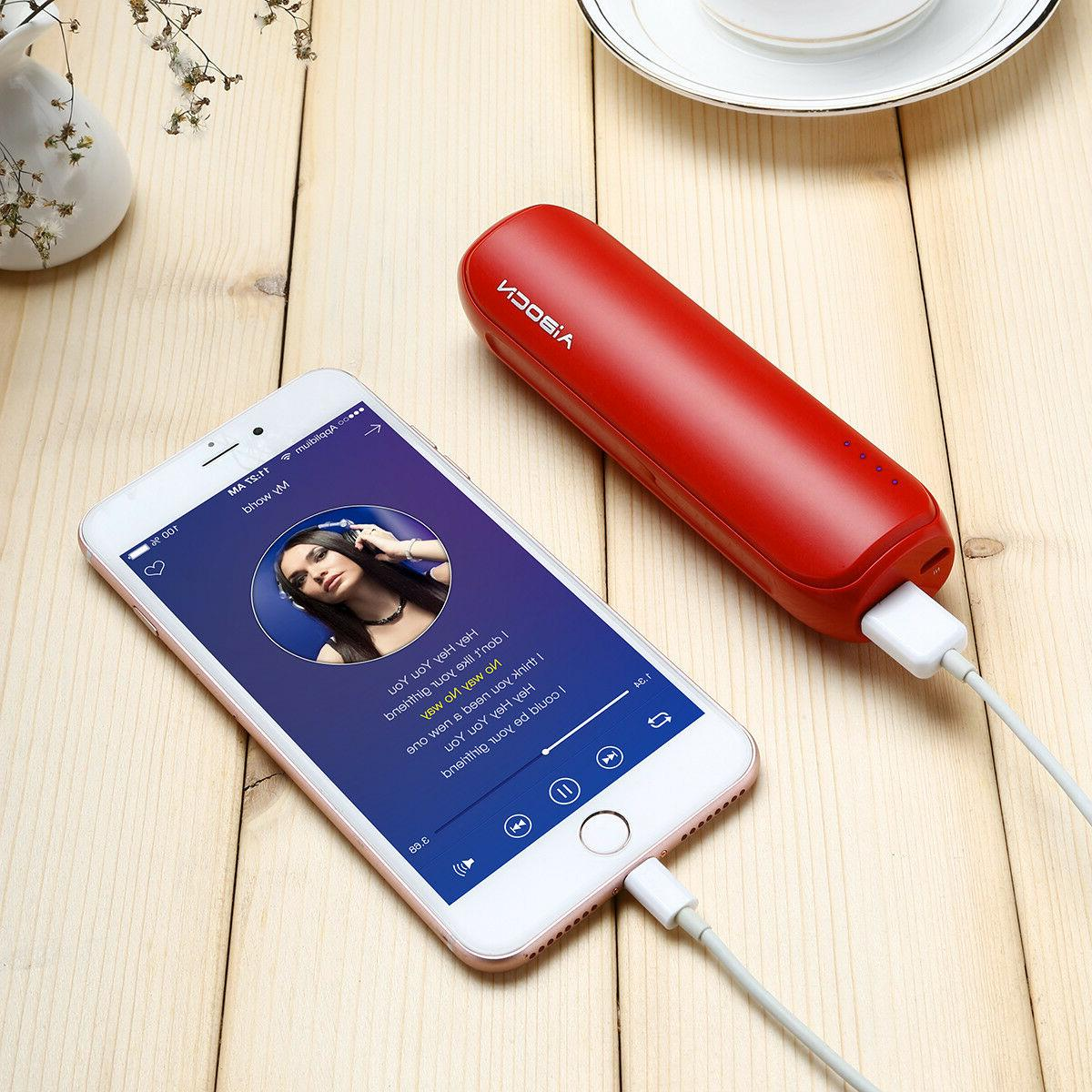 8000mAh Power Bank Quick Battery Charger