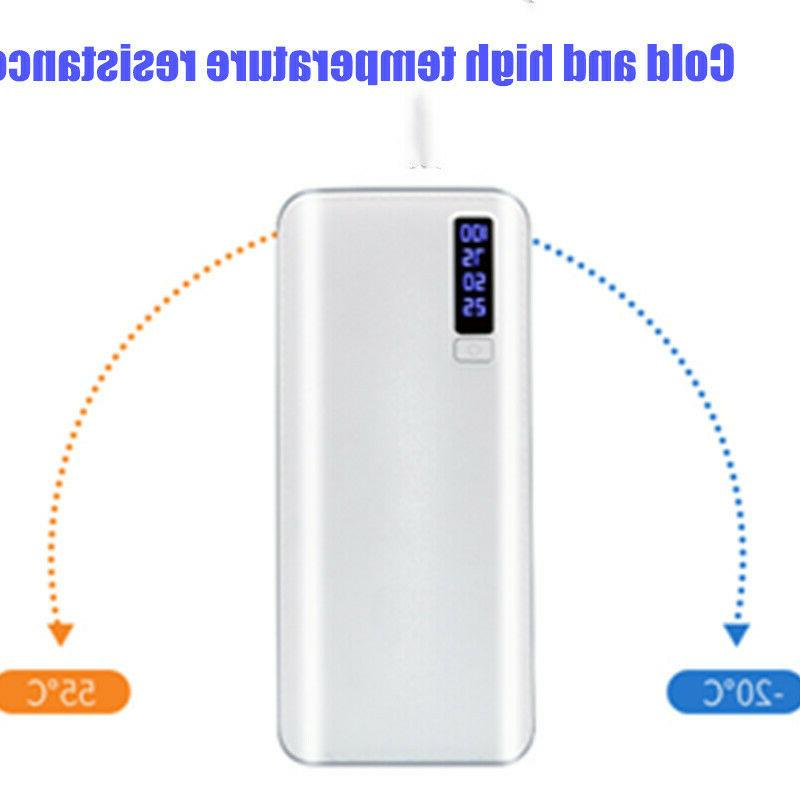 900000mAh Portable Bank 3 USB LED External Battery Phone Pack