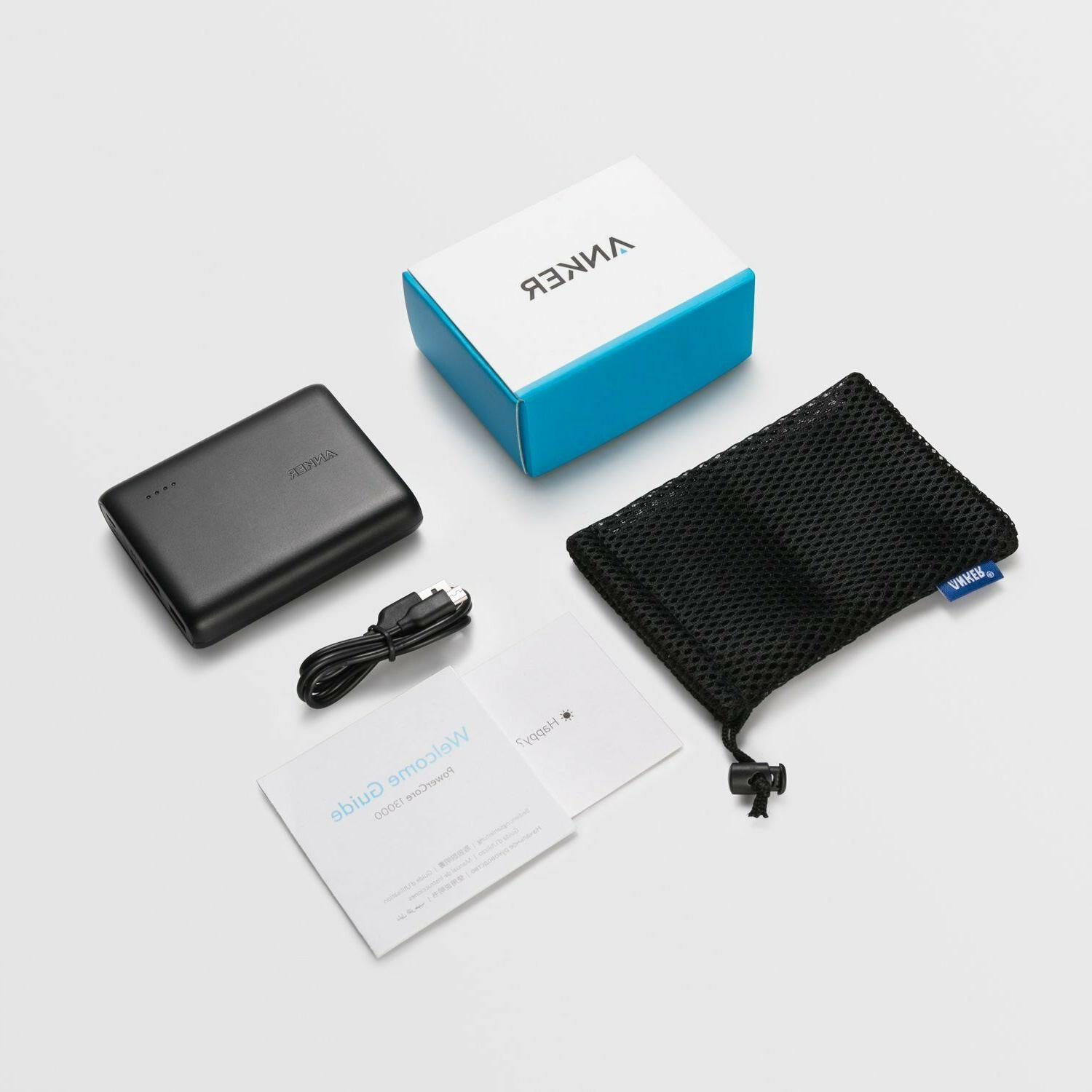 Anker PowerCore 13000, Compact 13000mAh 2-Port Charger