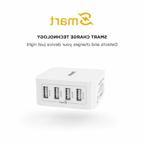 EasyAcc 40W 8A Charger Charger Foldable