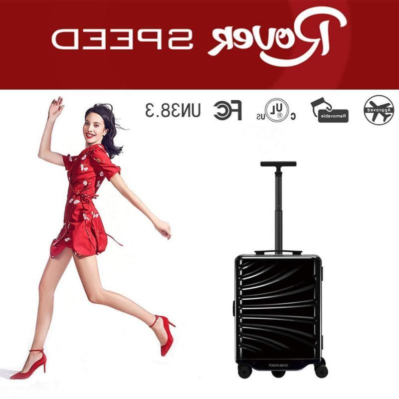 ai smart luggage rovers robot radars follow