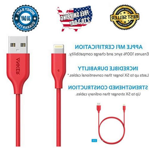 apple iphone usb charger cable