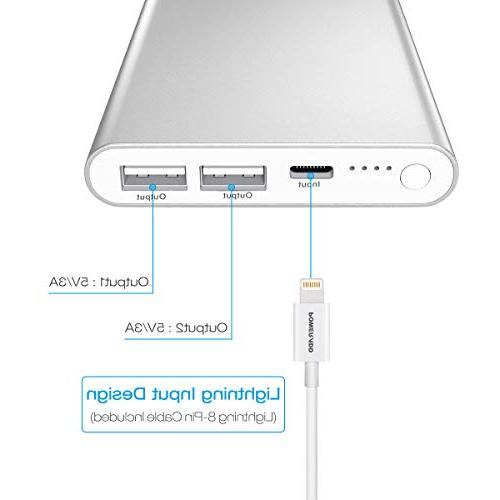 Battery Charger High-Speed Output iPad, More