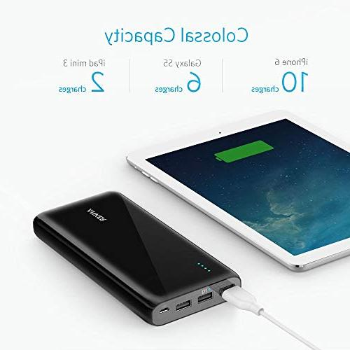 Anker Ultra-High Compact External Battery with PowerIQ iPad, and
