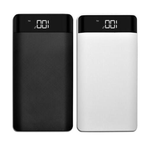 DIY Power Bank Case Dual 2 USB Port Battery Charger Box 8*18