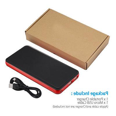 20000mAh USB Charger External Battery Cell