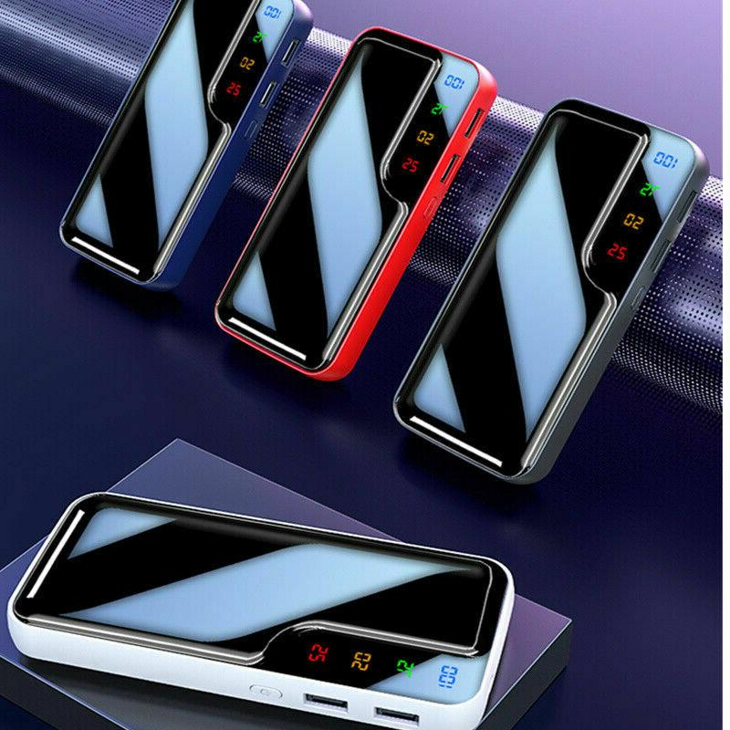 Emergency Power 2USB Battery Phone Charger