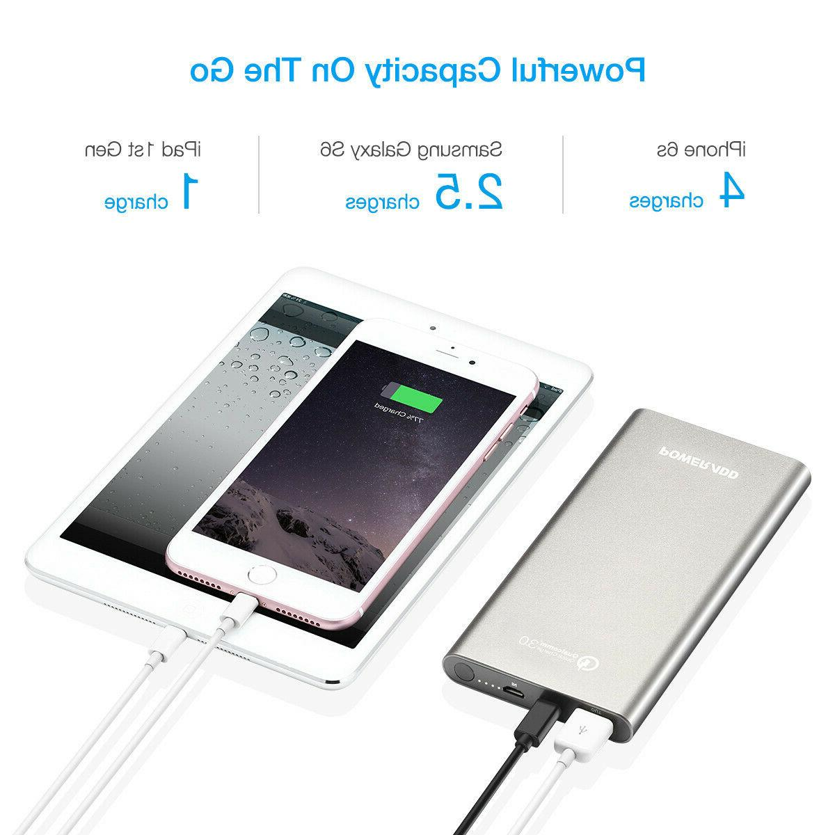 10000mAh Type Battery Charger