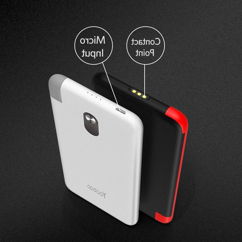 <font><b>Yoobao</b></font> Built-in Detachable External Battery <font><b>Portable</b></font> <font><b>Charger</b></font> for Phone