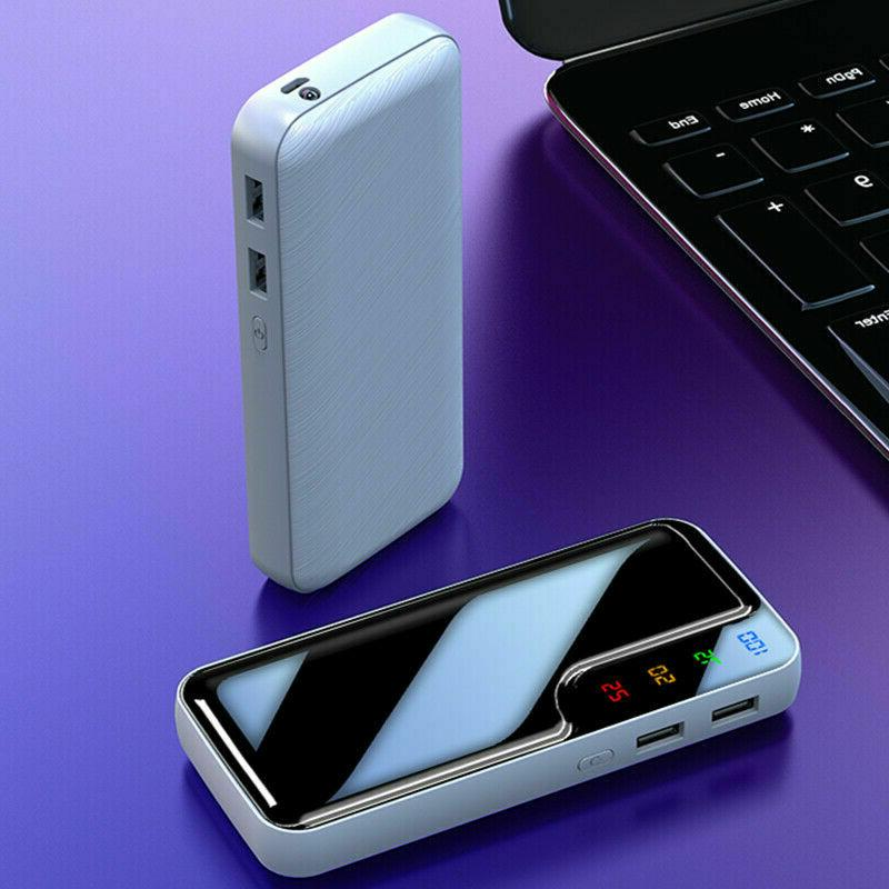 Power Bank 2USB External Battery Pack