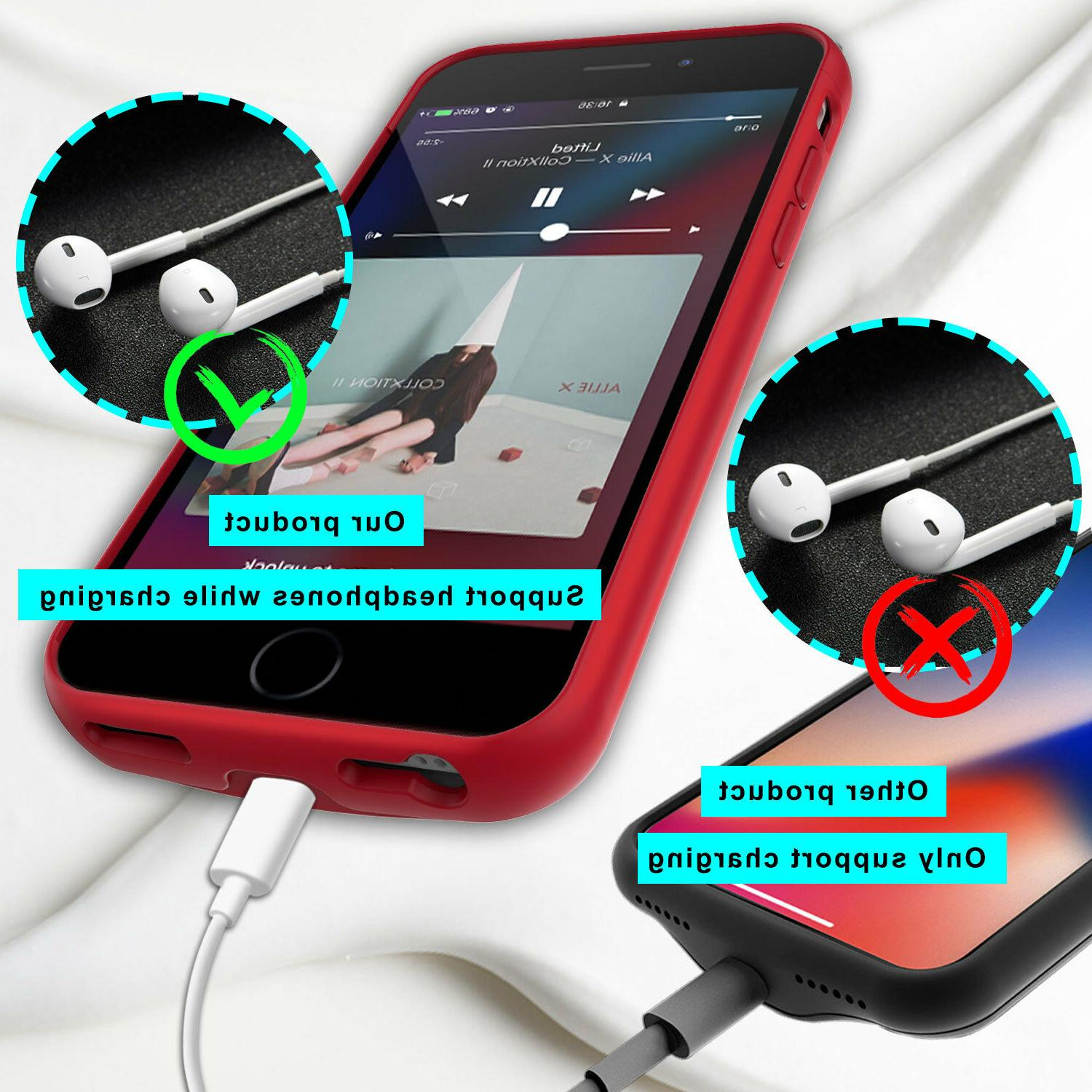 For iPhone Battery Charging Case External Power Bank Charger