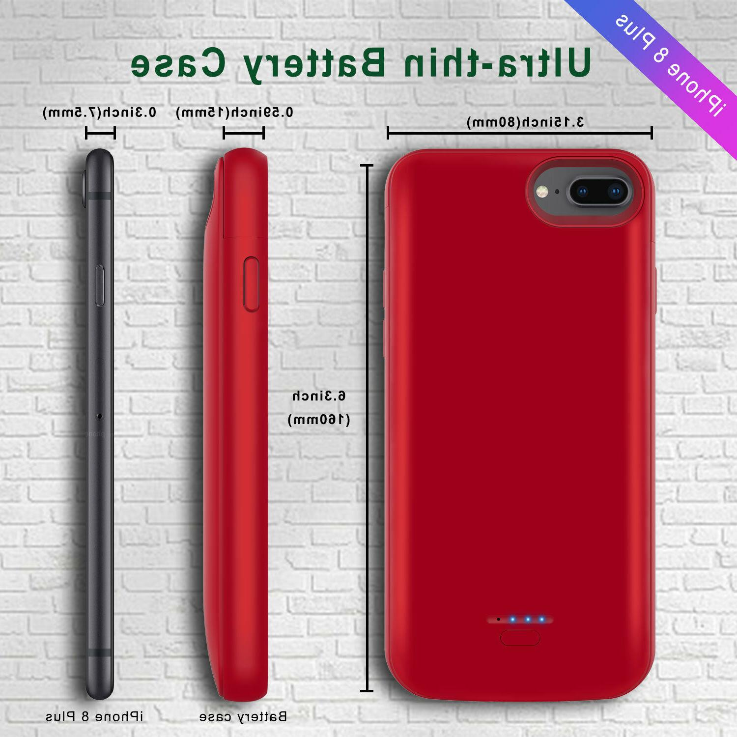 For iPhone Battery Charging Cover External Power Charger