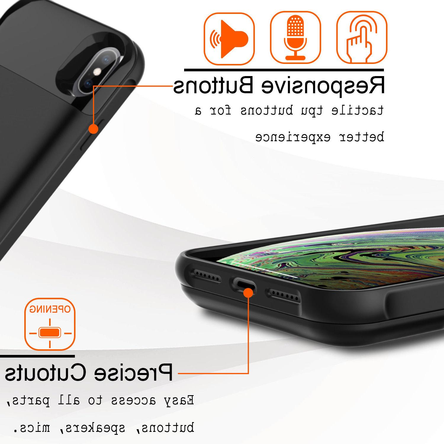 For iPhone X / Bank+QC3.0 Charger