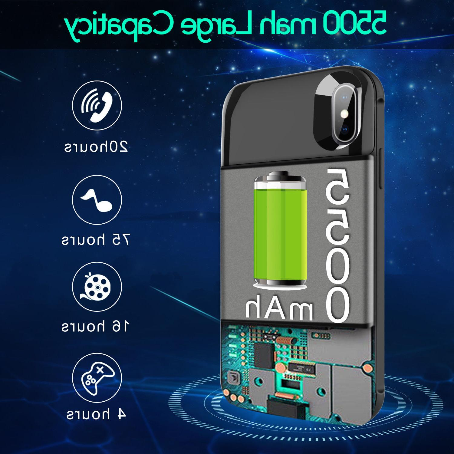 For iPhone /XR / XS Wireless Battery Power Bank+QC3.0