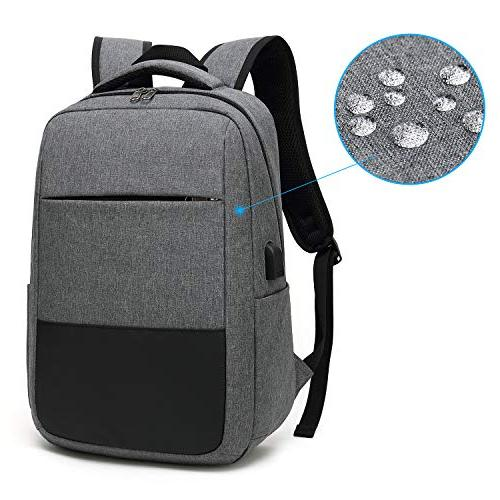 Laptop Travel Computer Bag with Port, Sunglass Water Resistant,Fits in Laptop Notebook, Slim Durable Business, College