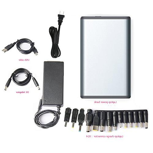 POWEROAK Laptop's Battery Charger 50000mAh Pack Power Bank for most Sony HP Toshiba Samsung Acer