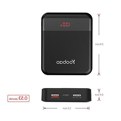 Yoobao M4Q 10000mAh Charge Power Inputand Charger Samsung