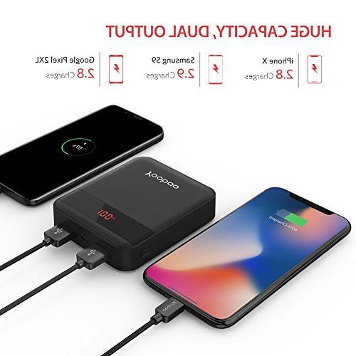 Charge Power Bank Dual Inputand Dual Charge Battery Samsung and