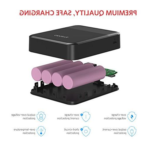 Yoobao M4Q Charge Inputand Dual Charger Support Huawei Fast Charge Samsung