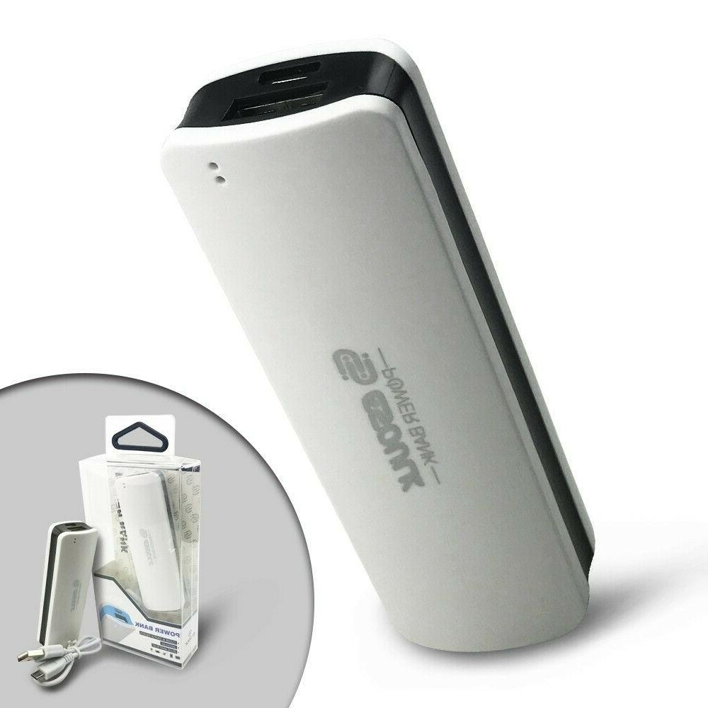 Mini Portable Power 2500mAh External Battery Charger