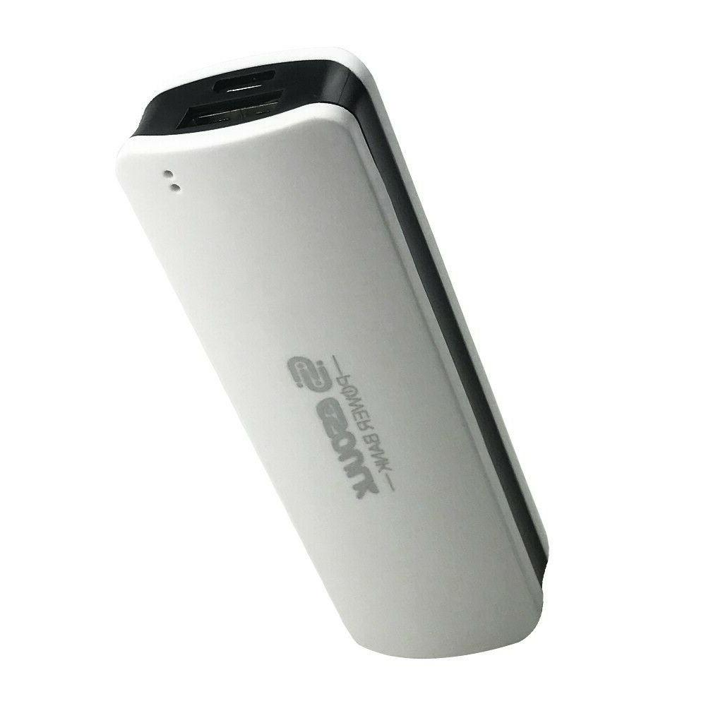 Mini Portable Power 2500mAh Charger with