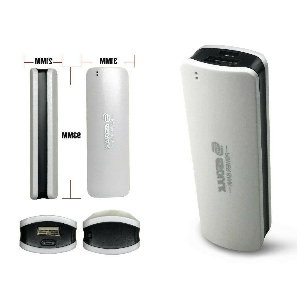 Mini Portable Bank 2600mAh Battery Charger for