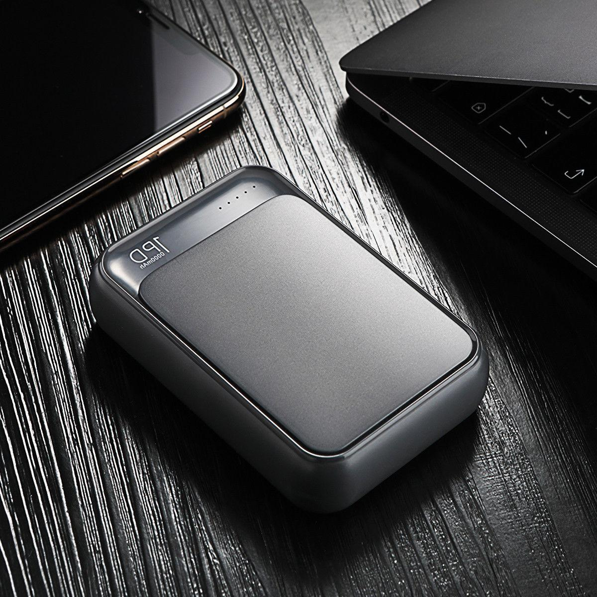 ROCK Power 18 C PD QC3.0 10000mAh Quick Charge Charging