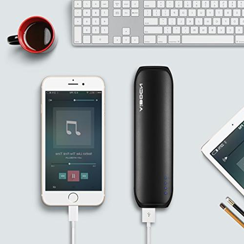 Aibocn Power 8000mAh External Charger Fast Charging Technology for Galaxy Black