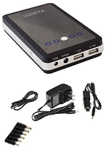 XTPower dual USB DC 12V 2A for Digital Cameras, GoPro, Phones US Charger + Car Charger Included